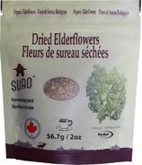 SURO Dried Organic Elderflowers