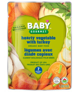 Baby Gourmet Hearty Vegetables with Turkey Baby Food