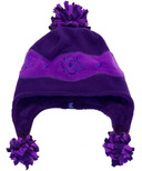 Calikids Two Tone Microfleece Hat Super Iris & Plum