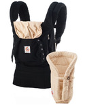 Ergobaby Original Three Position Bundle of Joy Baby Carrier & Insert