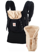 Ergobaby Original Three Position Bundle of Joy Baby Carrier & Insert