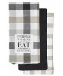 Harman People Who Love to Eat Kitchen Tea Towels