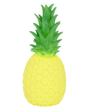 Goodnight Light Pineapple Lamp Yellow with Green Leaves