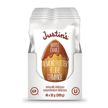 Justin\'s Maple Almond Butter Squeeze Packs