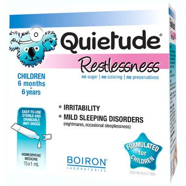 Boiron Quietude Restlessness 15D
