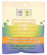 Aura Cacia Aromatherapy Patchouli & Sweet Orange Foam Bath