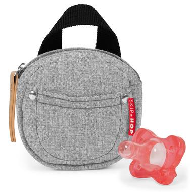 Skip Hop Grab & Go Pacifer Pocket Grey Melange