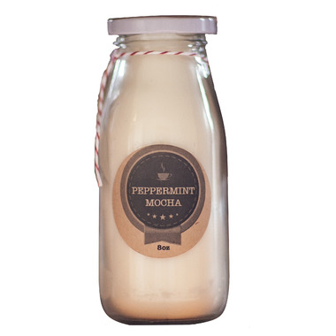 Salt Spring Island Candle Co. Milk Bottle Candle