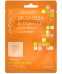 ANDALOU naturals Instant Brighten & Tighten Facial Sheet Mask