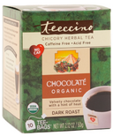 Teeccino Organic Maya Chocolate Chicory Herbal Tea