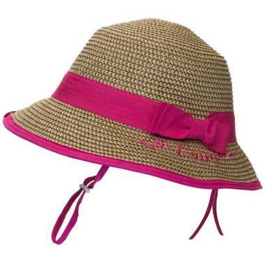 Calikids Straw Hat Raspberry