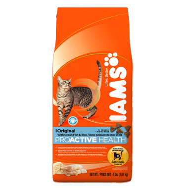 Iams Cat ProActive Health Adult Original With Ocean Fish & Rice