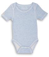 Juddlies Short Sleeve Bodysuit Blue
