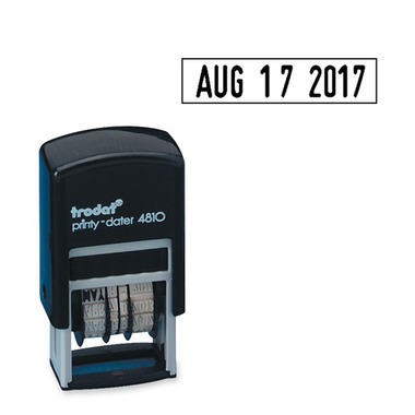 Trodat Printy Pocket Dater Stamp