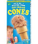 Let's Do...Gluten Free Ice Cream Cones
