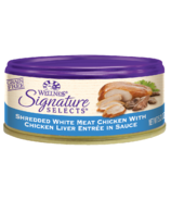 Wellness Signature Selects Shredded Chicken & Liver Wet Food CASE OF 24