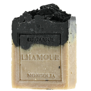 Lhamour Activated Charcoal and Pine Tar Soap