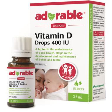 Wampole Adorable Vitamin D Drops