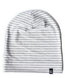 Vonbon Slouchy Beanie Grey Stripe