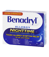 Benadryl Nighttime Allergy Caplets