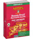 Annie's Homegrown Organic Bunny Fruit Snacks Pink Lemonade