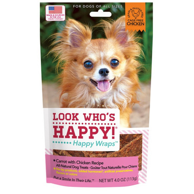Look Who\'s Happy Happy Wraps Carrot & Chicken