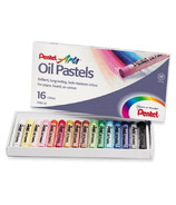 Pentel Round Stick Oil Pastels