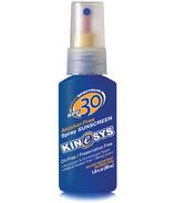 Kinesys Alcohol Free Sunscreen Spray Mango Scent Travel Size