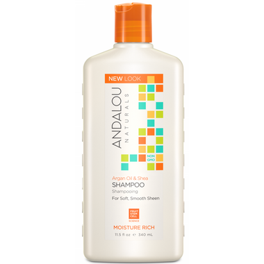 ANDALOU naturals Moisture Rich Shampoo Argan & Sweet Orange