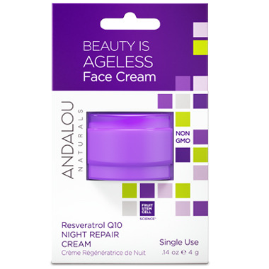 ANDALOU naturals Resveratrol Q10 Night Repair Cream Pod