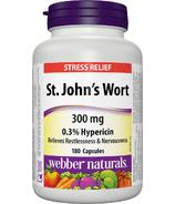 Webber Naturals St.John's Wort Extract, 300mg