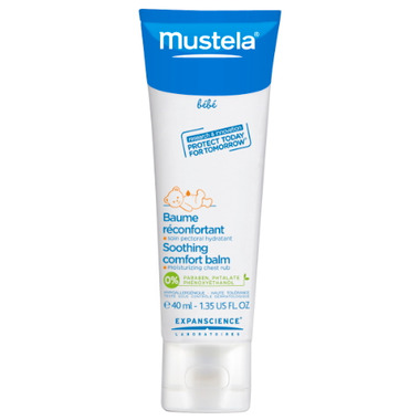 Mustela Soothing Comfort Balm Moisturizing Chest Rub