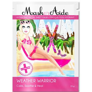 MaskerAide Weather Warrior Hydrating Facial Sheet Mask