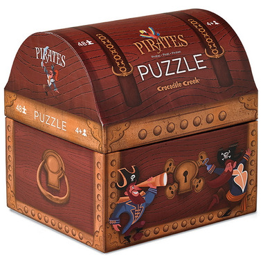 Crocodile Creek Double Fun Puzzle