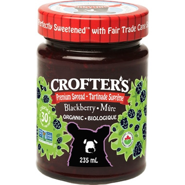 Crofter\'s Organic Blackberry Premium Spread