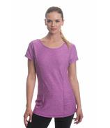 Gaiam Energy Tee Striking Purple Heather
