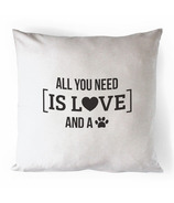 Printing Life Canada All You Need Is Love Canvas Pillow