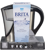 Brita Stainless Steel Pour Through Pitcher
