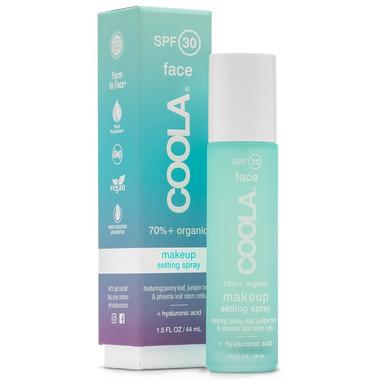 COOLA Face Makeup Setting Spray SPF 30
