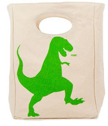 Fluf T-Rex Organic Lunch Bag