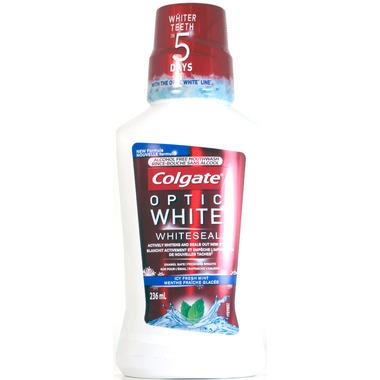 Colgate Optic White Sparkling Fresh Mint Mouthwash