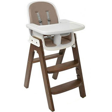 OXO Tot Sprout High Chair Taupe/Walnut