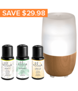 Ellia Aroma Diffuser & Essential Oil Blend Gift Set