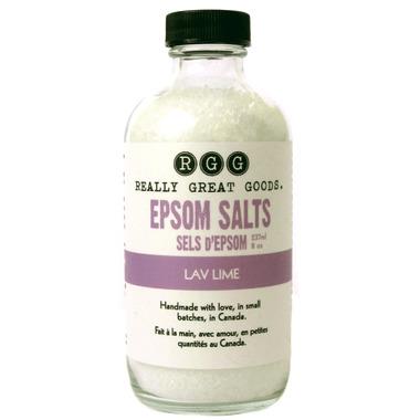 Really Great Goods Lav Lime Epsom Salt Blend