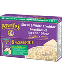 Annie's Homegrown Organic Shells & White Cheddar Macaroni & Cheese