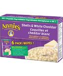Annie's Homegrown Organic Shells & White Cheddar Macaroni & Cheese