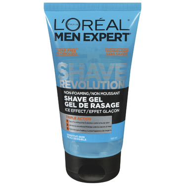 L\'Oreal Men Expertect Shave Revolution Non-Foaming Shave Gel Ice Effect