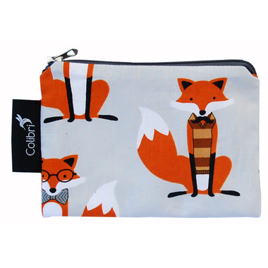 Colibri Reusable Snack Bag in Foxes Pattern