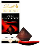 Lindt Excellence Chili Dark Chocolate Bar