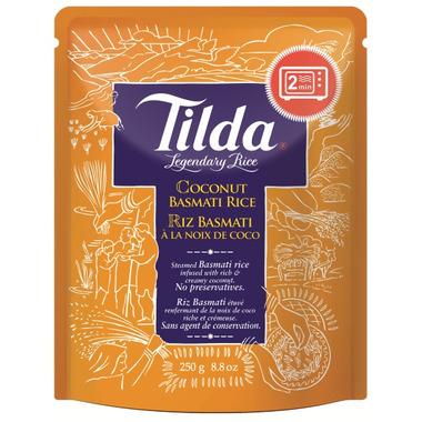 Tilda Coconut Steamed Basmati Rice